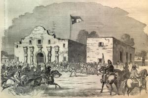 The Alamo, San Antonio, Texas 1836