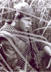 PFC Jay Kimbrough circa 1969 - Vietnam