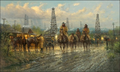 """Roughneck Country"" by G. Harvey"